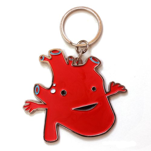 Heart Keychain by I Heart Guts