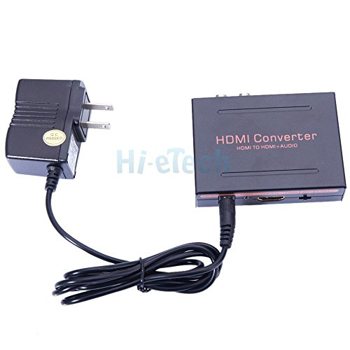 simply silver - 1080P HDMI to HDMI + Audio SPDIF L/R Extractor Adapter for Google Chromecast US by Simply Silver (Image #7)