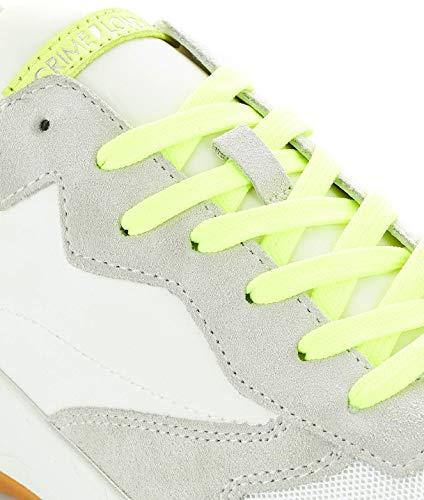 Crime London Cuero Zapatillas Blanco 258009110 Mujer rYHUr