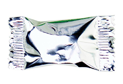 Party Sweets By Hospitality Mints Metallic Silver Buttermints, 7-Ounce Bags (Pack of 6)]()