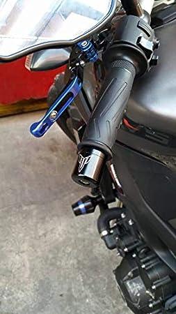 CNC Embout Guidon pour Yamaha MT FZ de 07/Adaptateur de XJ6/MT125/XSR 700