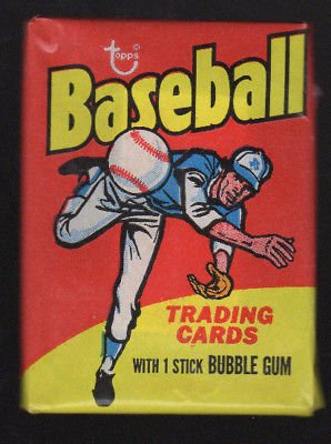 1975 TOPPS BASEBALL SEALED WAX PACK