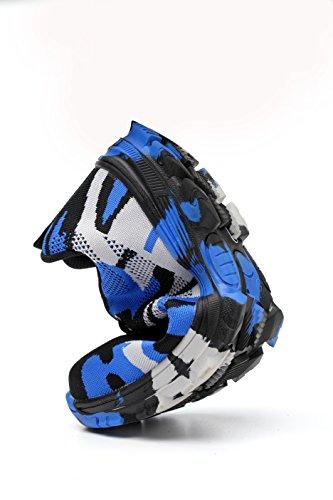 Estive Blu Outdoor tone Sport Ali Sicurezza Camuffamento Donna Antinfortunistica Con In Arrampicata Trekking Unisex Di Scarpe Uomo Acciaio Sportive Punta Fx6wdxO