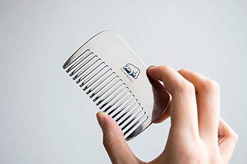 Polar Solid Titanium Massage Comb by PolarMetals