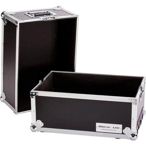 Marathon eLIGHT Series Ma-Lphw Deluxe Lp Case Holds 100 Pcs with Handle and Wheels (Marathon Elight Series)