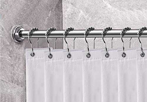 """HabiLife Shower Curtain Rod 18-28 Inches Stainless Steel 18-28/""""