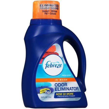 Febreze in Wash Laundry Fabric Odor Eliminator Detergent Ref