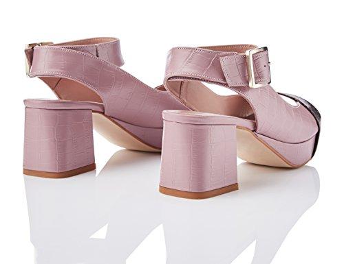 FIND Sandalias de Plataforma para Mujer Rosa (Pink)