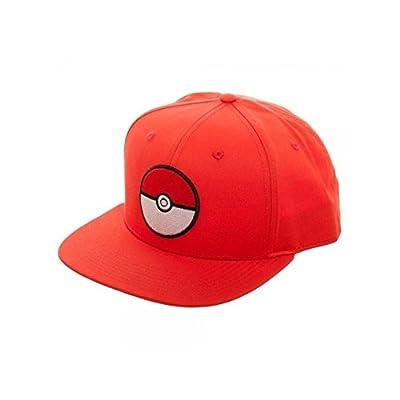 Superheroes Brand Pokemon Pokeball Red Snapback Hat/Cap