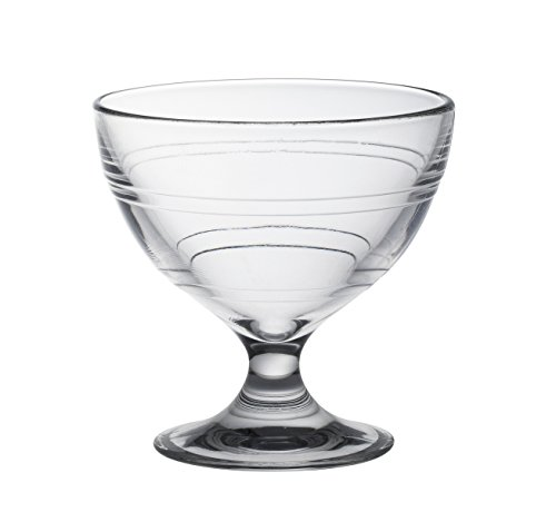 Duralex Made In France Gigogne Glass Ice Cream Cup (Set of 6), 8.75 oz, Clear by Duralex (Image #2)