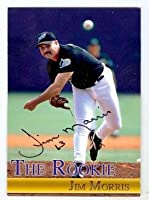 Jim Morris autographed baseball card (Rays The Rookie Movie SC) Christian Family Trading Card - Baseball Slabbed Autographed Cards