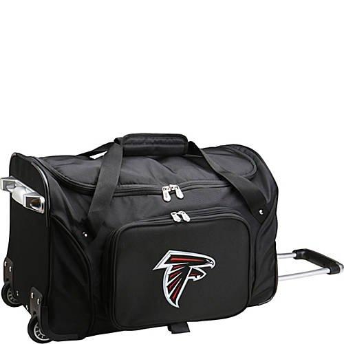 NFL 22'' Rolling Duffel Atlanta Falcons by TableTop King
