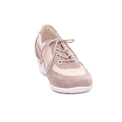 685002 Chaussures K Waldläufer lacets de 401 Kina ville 554 à femme Beige pour R6W6npqO