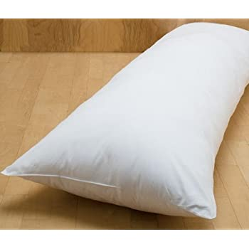 Amazon Com Body Pillow 20 X 54 Quot 95 Feather 5 Down