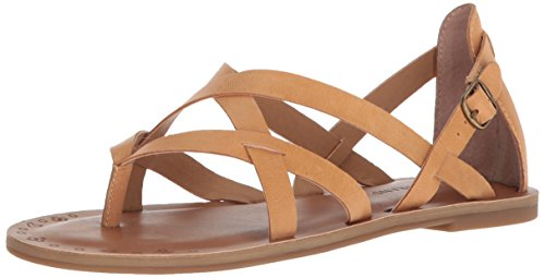 Cheap price Lucky Brand Women' Ainsley Sandal, Buff, .