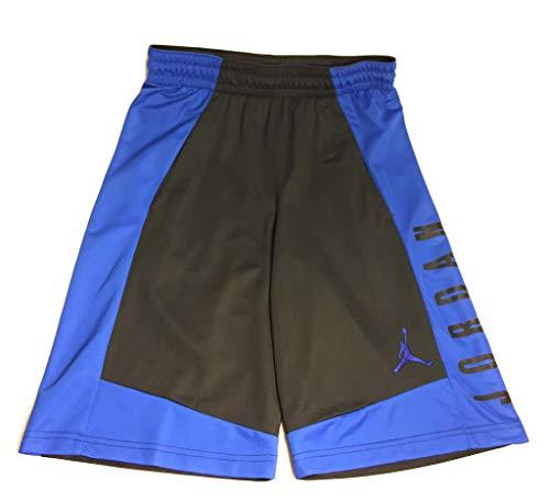 Nike Jordan Men's Air Highlight Basketball Shorts 899375-015 (Black/Blue) (Medium)