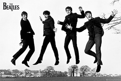 The Beatles Jump 2 Poster Rolled 36 x 24 PSA034223