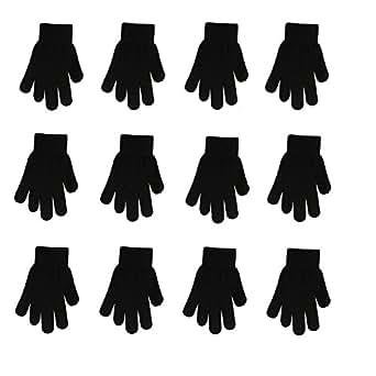 Amazon.com: Winter Gloves Black Magic Gloves Wholesale 12