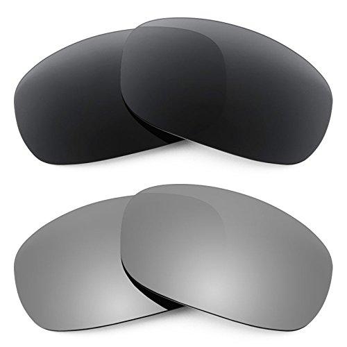 Revant Replacement Lenses for Maui Jim Stingray MJ103 2 Pair Combo Pack - Stingrays Maui
