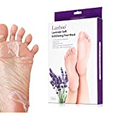 2 Pairs Exfoliant Foot Peel Mask for Soft Feet in 7 Days, Exfoliating Booties for Peeling Off Calluses & Dead Skin, Baby Your feet, for Men & Women (Lavender)