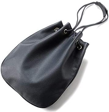 チセイ Cisei / 【国内正規品】 / グレインレザードローストリングバッグ「1200 LD」 (NAVY/ネイビー) メンズ