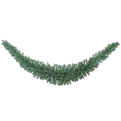 Vickerman C164920 Fir Swag Garland with 286 PVC Tips, 9', Oregon by Vickerman