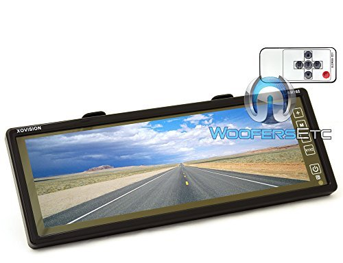 XO Vision RM102 10-Inch TFT Wide Screen Rearview Mirror Moni