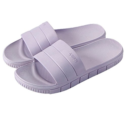 Slippers for and Shower Sandal Men Home House clootess Womens Slip 1 Non Shoes Slides Drying Quick Indoor Purple 1 v8n0vtwx
