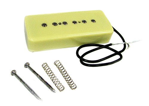 (Cream Soapbar P-90 style Single-Coil Electric Guitar Pickup)