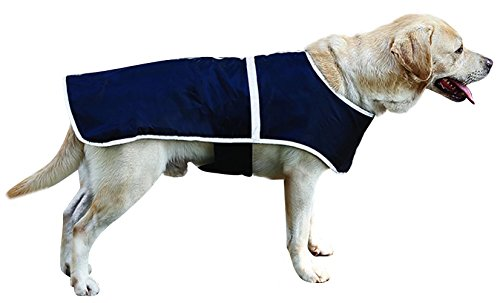 Dog Warm Vest Reversible Waterproof Cold Weather Coat Checked Winter Clothes Lightweight Reflective Raincoat