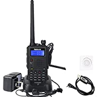 Retevis RT5 (Second Generation)Dual Band security Walkie Talkies 136-174/400-520MHz 128 Channel VOX DTMF FM Radio 1750Hz Two Way Radio (1 Pack,Black)