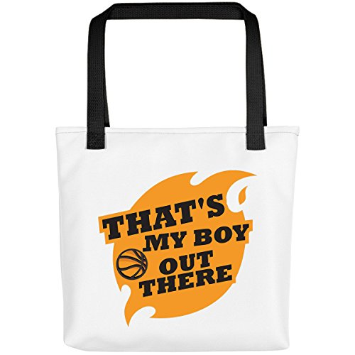 That'S My Boy Out There Basketball - Baseball Gift Coffee White Bag