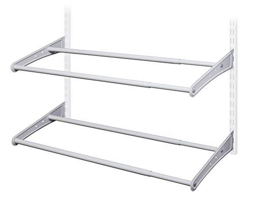 ClosetMaid 28440 ShelfTrack Expandable Shoe Rack, 24