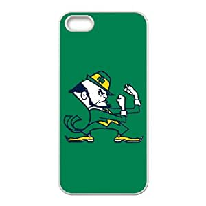 Notre Dame Fighting Irish iPhone 4 4s Cell Phone Case White QII