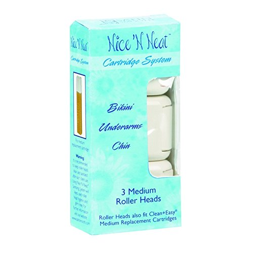 Lot of 3 Nice N Neat Medium Replacement Roller Heads 3 pk