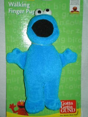 - Sesame Street Cookie Monster Plush Walking Finger Puppet