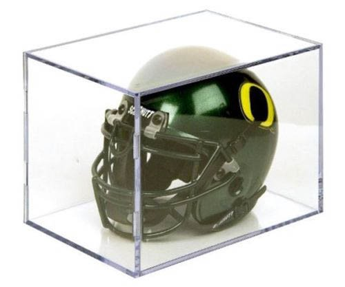 Ballqube Mini Football Helmet Holder Display Case
