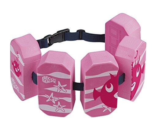 Beco Mädchen Schwimmgürtel Sealife, pink, 96071-4