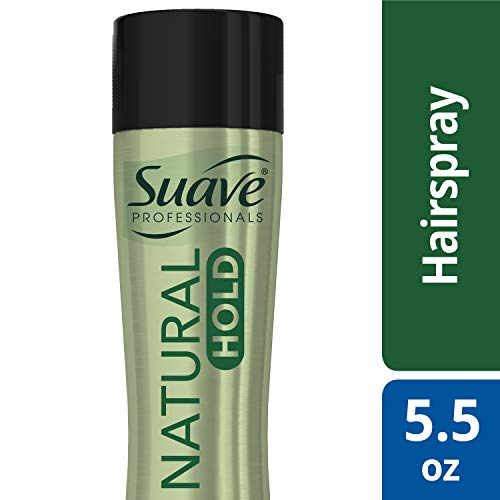 Suave Professionals Compressed Micro Mist Natural Hold Hairspray 5.5 oz (Best All Natural Hairspray)