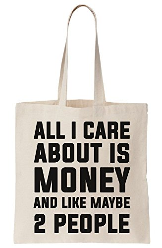 About Like I Money And All Tote Maybe Bag People 2 Is Canvas Care qSn1wBBaEg