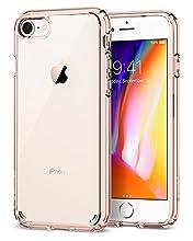 Spigen Ultra Hybrid [2nd Generation] Designed for Apple iPhone 7 Case (2016) / Designed for iPhone 8 Case (2017) - Rose Crystal