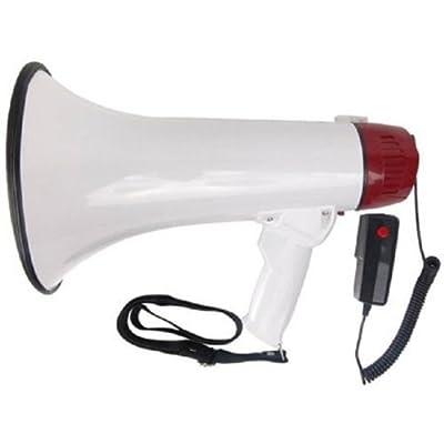 Megaphone Mega Phone Bull Horn Microphone Cheerleading Protest Rally 30W Siren