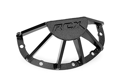 Rough Country - 1036 - RC Armor Rear Dana 35 Differential Guard for Jeep: 84-01 Cherokee XJ 4WD, 86-92 Comanche MJ 4WD, 99-04 Grand Cherokee WJ 4WD, 93-98 Grand Cherokee ZJ 4WD, 97-06 Wrangler TJ 4.