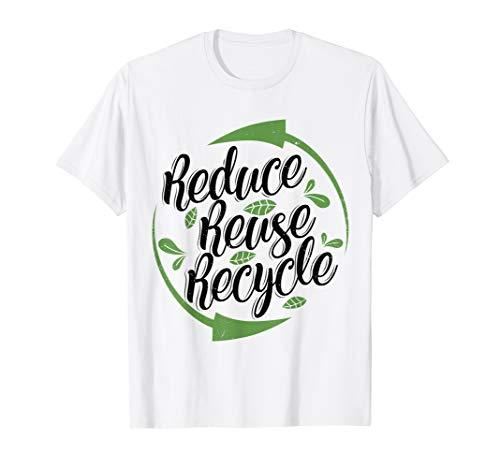 'Reduce Reuse Recycle' Environment Awareness Shirt