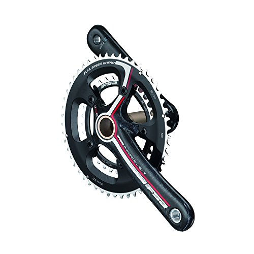 FSA K-Force Light 386 EVO Carbon Crankset Black/Gray Logo, 172.5mm 39/53