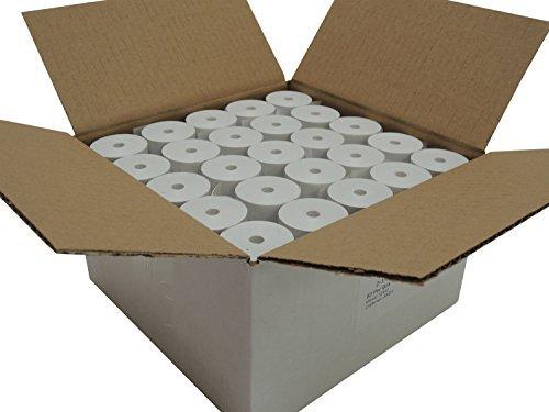 POS1 Thermal Paper 2-1/4 x 75 ft 1.5'' / 38mm diameter CORELESS BPA Free 50 rolls by POS1