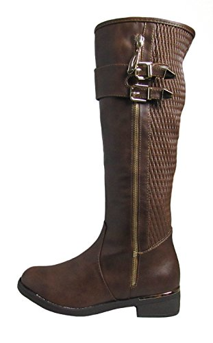Womens Top 1 Moda boots Brown Ginger OwZCxP