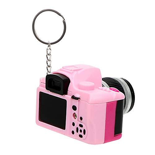 BlueShy9999 - Auto Accessories Flash Light & Buzzle Key Chain Car Styling Mini Camera Keyring Car Ornament Funny Toy