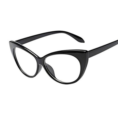 Sunglasses, Mchoice Women Men Summer Vintage Retro Cat Eye Glasses Unisex Fashion Aviator Mirror Lens Travel Sunglasses - Eyes Red Cats Rimmed