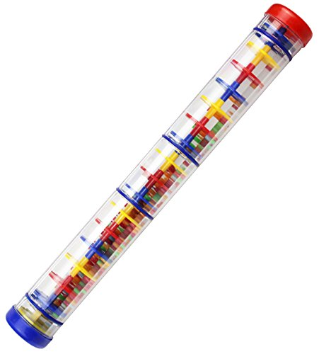 The Rainstick (Rainmaker - Large Rainstick Rattle Toy 15.75 inch - Long Color Noise Stick Rainbowmaker)